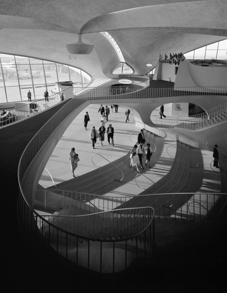 Аэропорт кеннеди лестницы