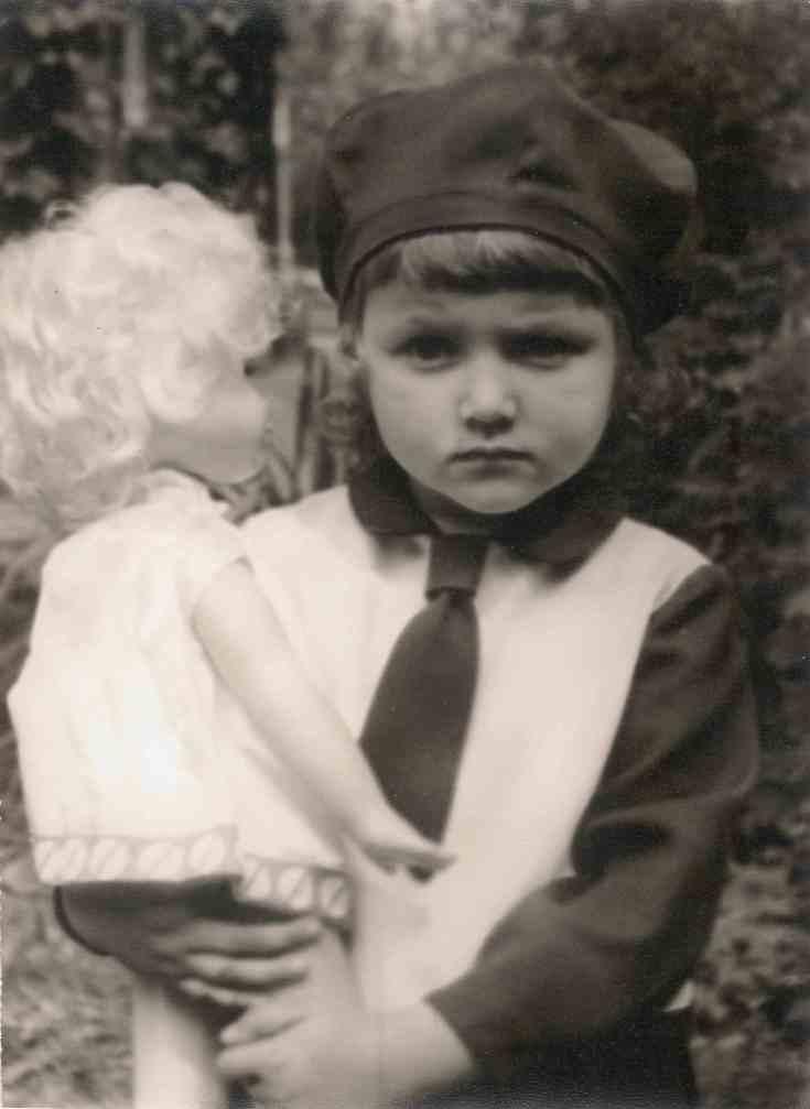 Кудиновы Ольга Анатольевна 1969 Лианозово день рождения